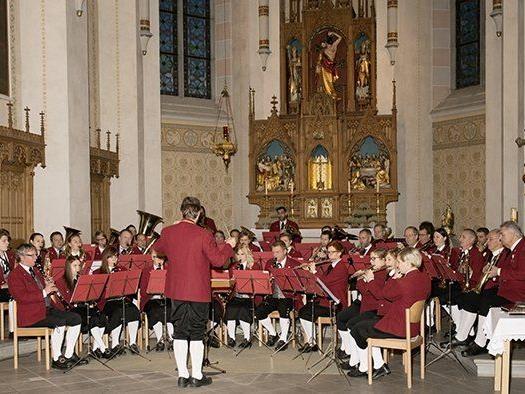 Großartiges Kirchenkonzert der Bürgermusik.
