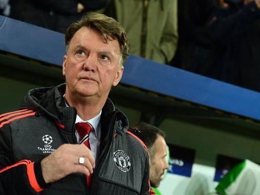 Louis van Gaal steht in Manchester gewaltig in der Kritik.