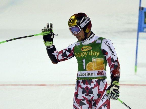 Marcel Hirscher verabschiedete sich bereits in Runde 1.