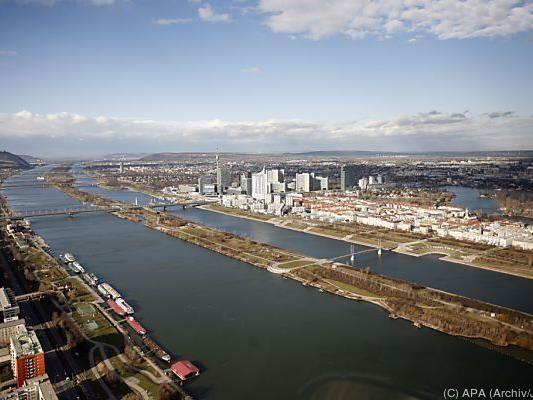 Ein großer Geldfund wurde in der Neuen Donau in Wien gemacht