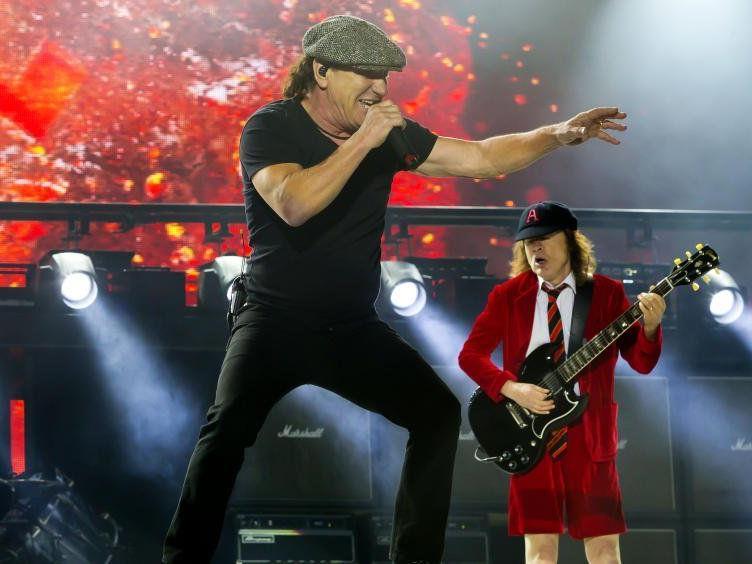 AC/DC geben sich wieder die Ehre in Österreich.