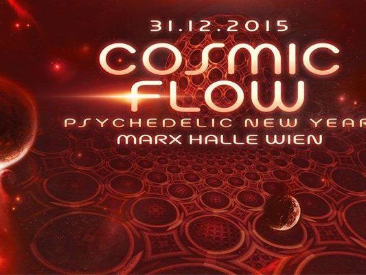 "Cosmic Flow lädt zum Silvester-""Festival"" in die Marx Halle"