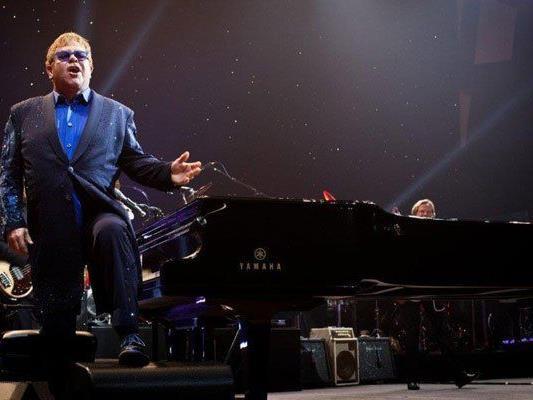 Elton John kehrt nach Wien zurück.