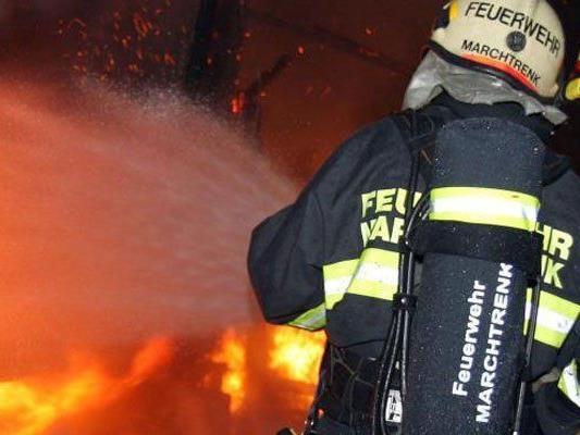 Einfamilienhaus im Burgenland durch Brand zerstört worden