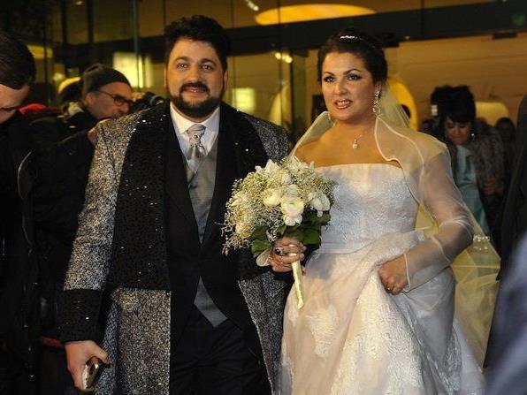 Bei der Hochzeit von Anna Netrebko und Yusif Eyvazov