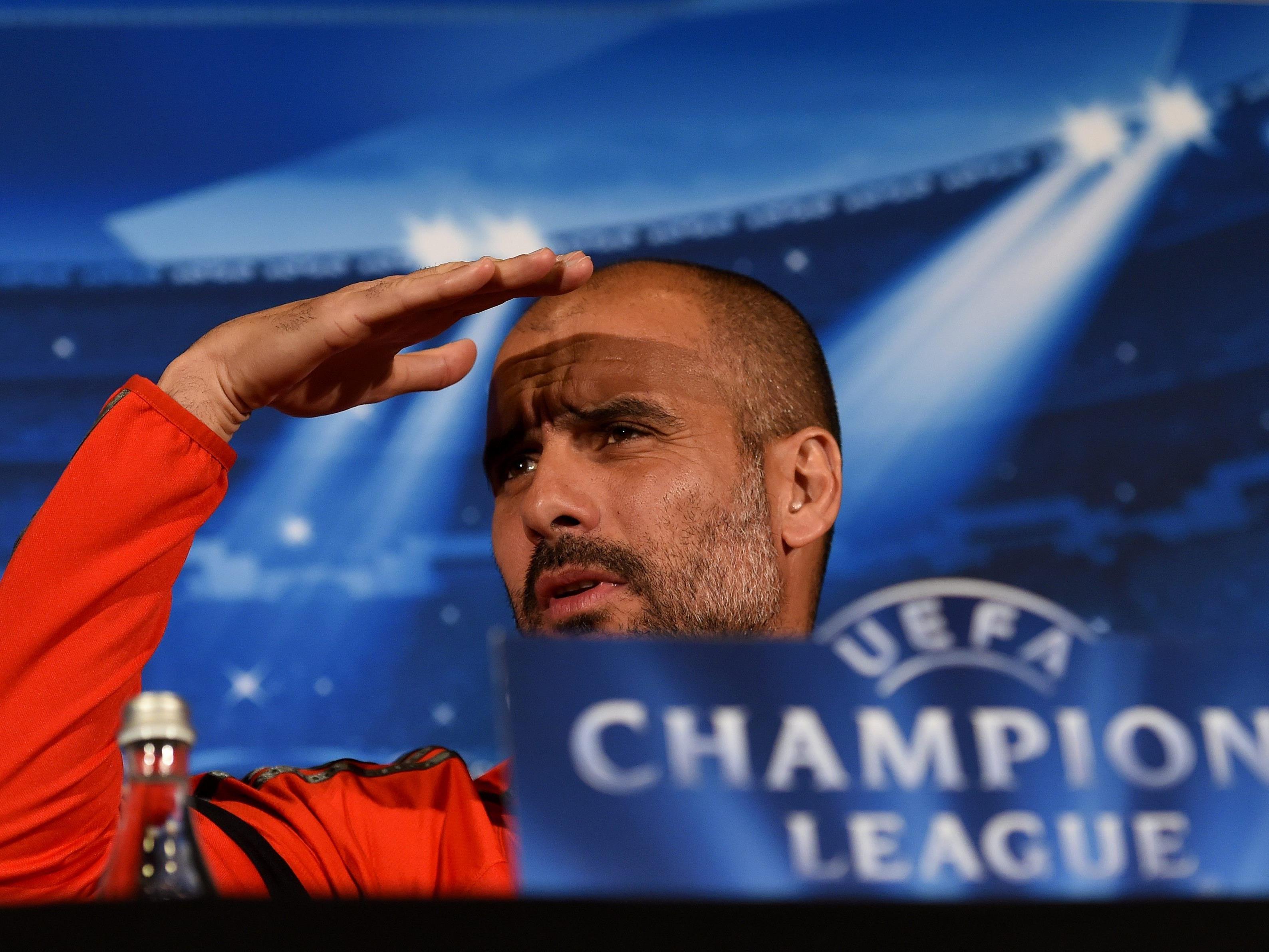 Auf zu neuen Ufern: Pep Guardiola zieht's nach Man City.