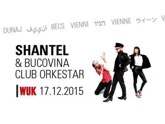 Shantel & Bucovina Club Orkestar kommen wieder in's WUK