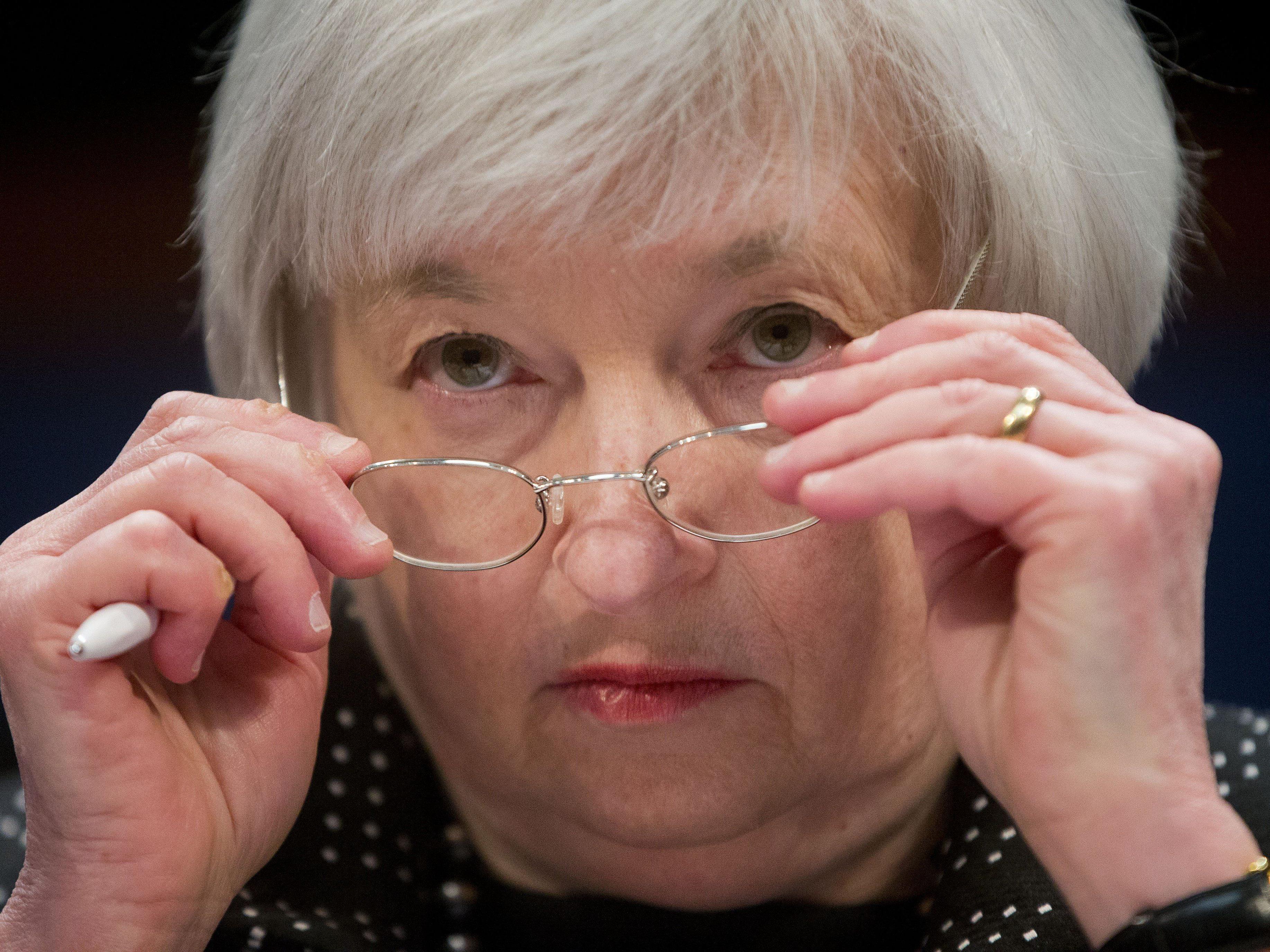 Steht morgen im Mittelpunkt des Interesses aller Börsianer: FED-Chefin Janet Yellen.