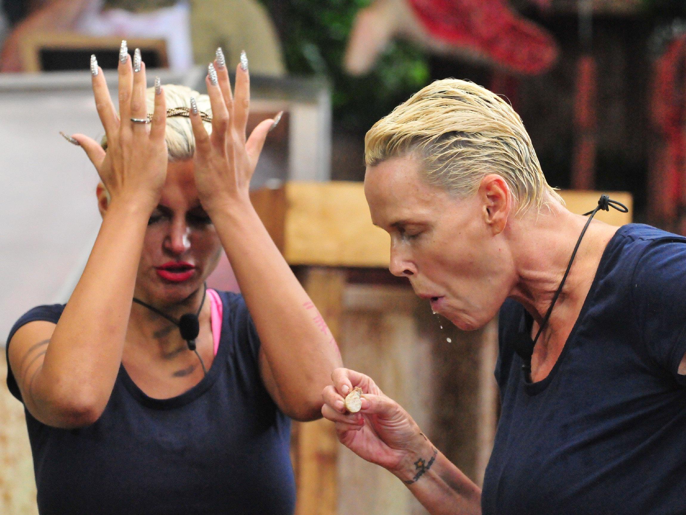 Sophia und Brigitte scheitern an der 12. Dschungelprüfung.