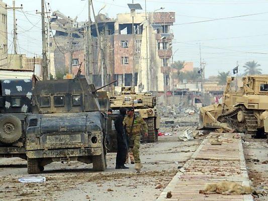 Irakische Armee rückt in Ramadi weiter vor