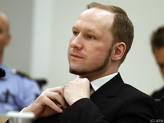 Breivik wurde für den Mord an 77 Menschen verurteilt