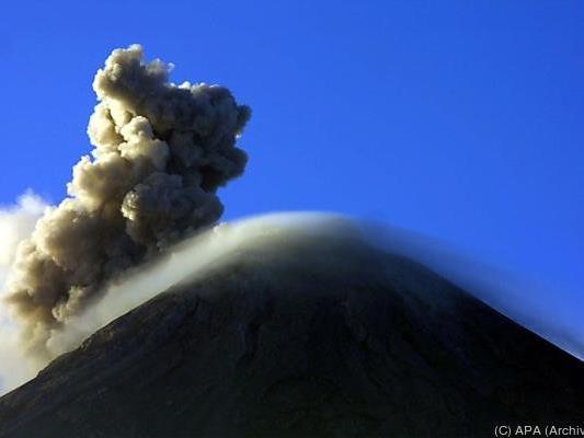 Der Volcan de Fuego ist wieder einmal ausgebrochen