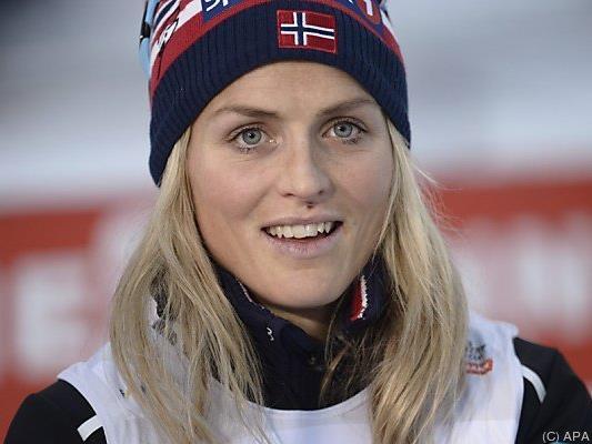 Therese Johaug in der Gesamtwertung auf Rang zwei
