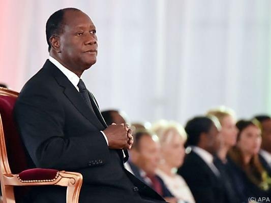 Präsident Ouattara kündigte eine Erneuerung des Landes an