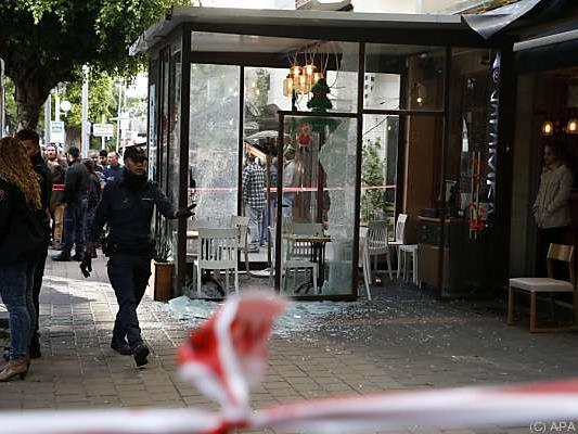 Bar in Tel Aviv wurde beschossen