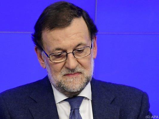 Premier Mariano Rajoy will im Amt bleiben