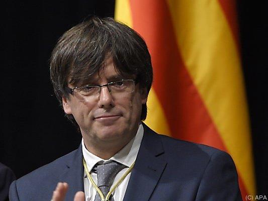 Puigdemont will nur dem katalanischen Volk treu dienen