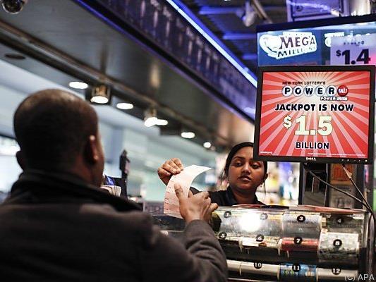 Lottofieber in den Vereinigten Staaten
