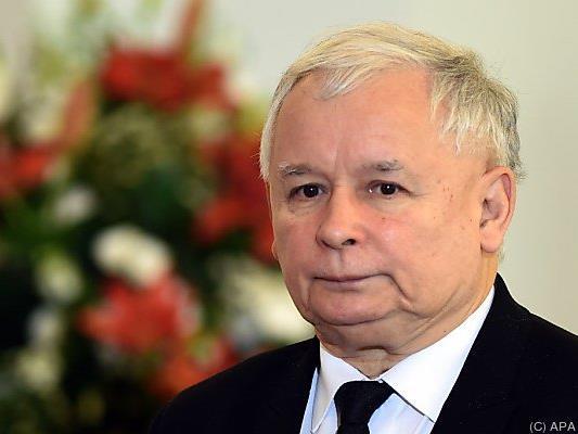 Jaroslaw Kaczynski bleibt gegenüber EU hart