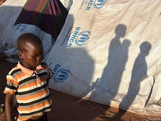 Vor allem Kinder sind vom Hunger getroffen