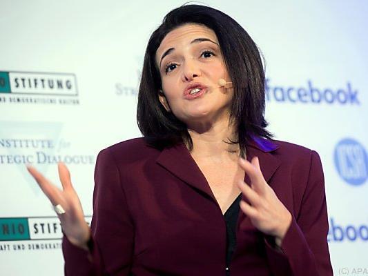 Facebook-Chefin Sheryl Sandberg war zu Besuch in Berlin