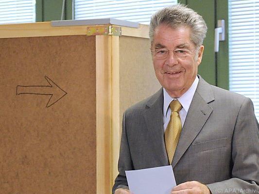 Heinz Fischer hilft bei der Suche nach Nachfolger