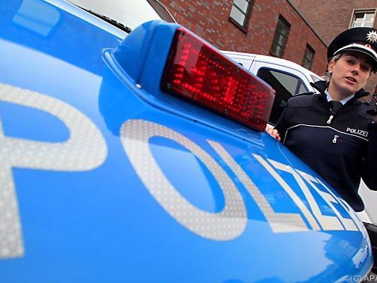 Alarmbereitschaft bei der deutschen Polizei