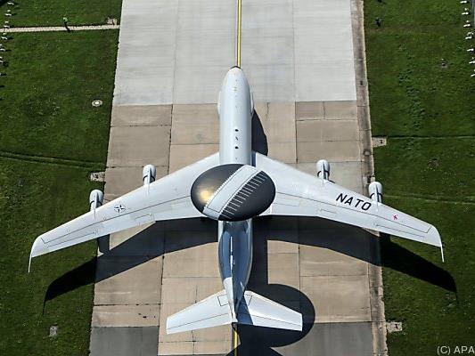 AWACS-Aufklärer sollen im Kampf gegen den IS helfen