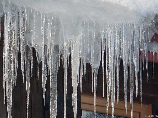 Äußerst frostig war es in der vergangenen Nacht in Österreich