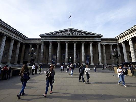 Das Kreuz wird im British Museum ausgestellt