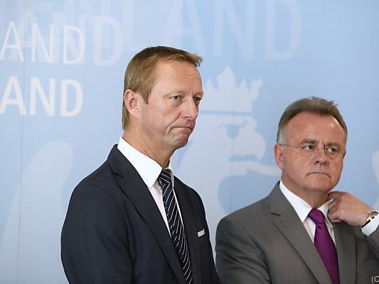 """Tschürtz und Niessl wollen """"subjektives Sicherheitsgefühl"""" erhöhen"""