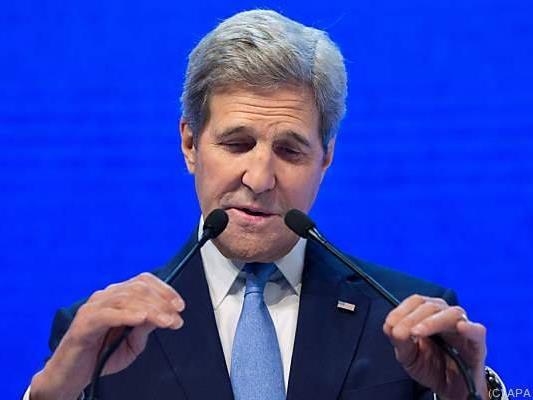 Kerry traf sich mit arabischen Außenministern