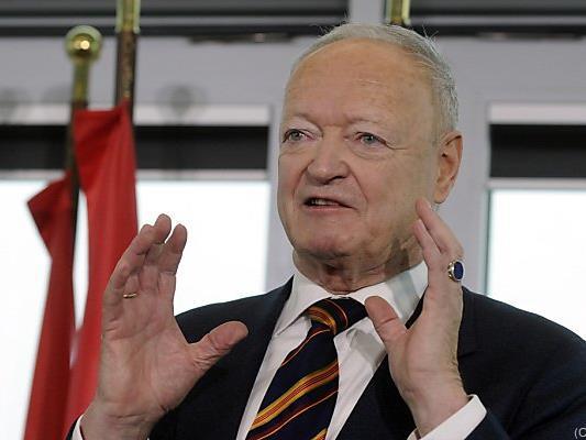 Andreas Khol tritt für die ÖVP an