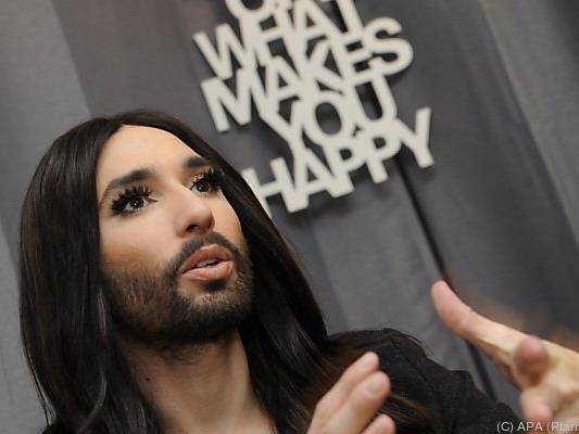 Conchita setzt sich weiter für Gleichberechtigung ein