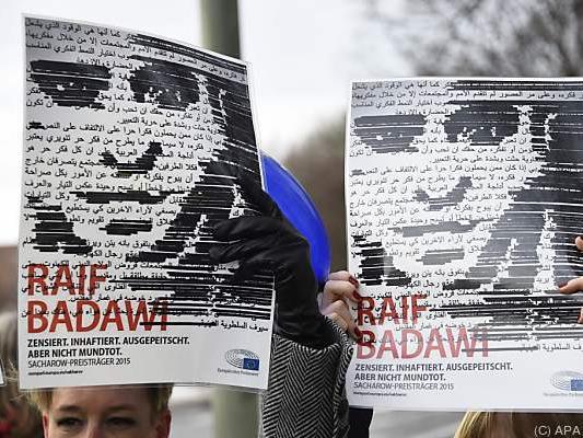 Badawi soll in eine Isolationszelle verlegt worden sein