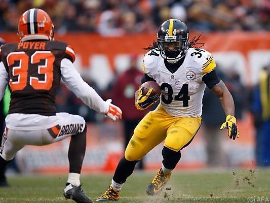 Ganz knapp schaffte es DeAngelo Williams mit den Steelers in die Play-offs