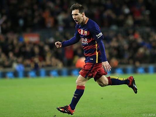 Gala-Vorstellung von Lionel Messi