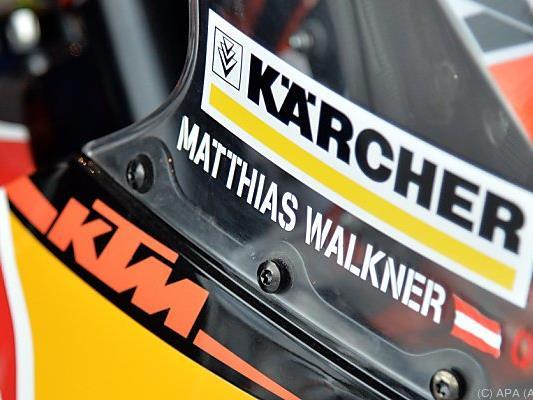 Matthias Walkner bleibt an der Spitze dran