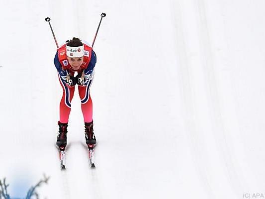 Heidi Weng gewann erstmals einen Weltcup-Bewerb