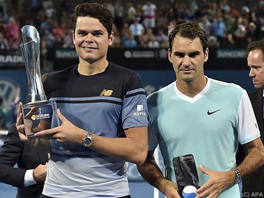 Glatte Zweisatz-Niederlage von Federer