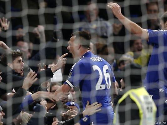 John Terry traf einmal für Chelsea und einmal für Everton