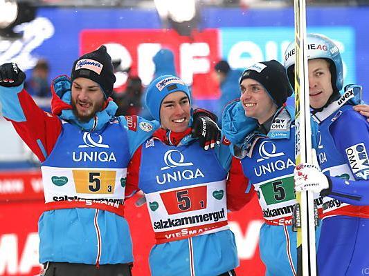 Die Mannschaft von Heinz Kuttin holte bei Heim-WM zwei Mal Platz drei
