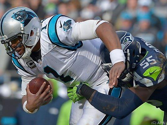 Panthers konnten sich die Seahawks gerade noch vom Hals halten