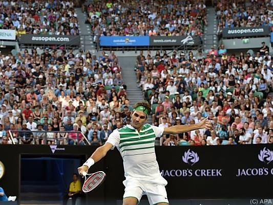 Roger Federer machte mit seinem Auftaktgegner kurzen Prozess