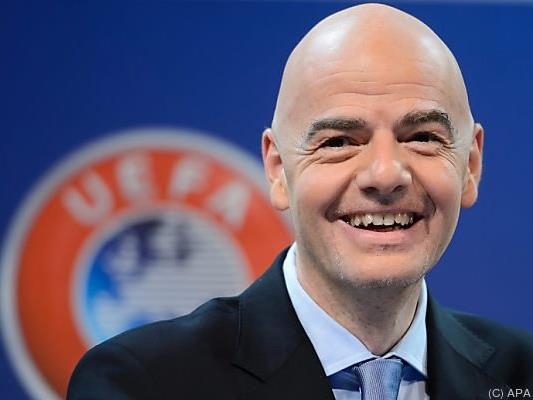 FIFA-Präsidentschaftskandidat Gianni Infantino