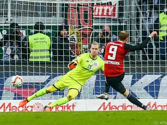 Moritz Hartmann verwandelte den Elfmeter sicher