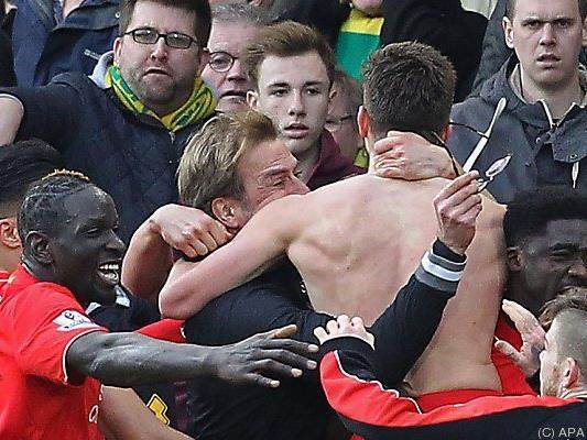 Riesenjubel beim FC Liverpool