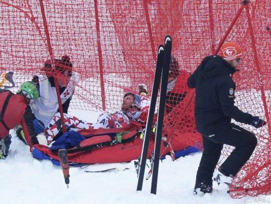 Streitberger liegt mit Scheiber und Svindal im Krankenhaus