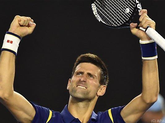 Djokovic schlug im Halbfinale Roger Federer