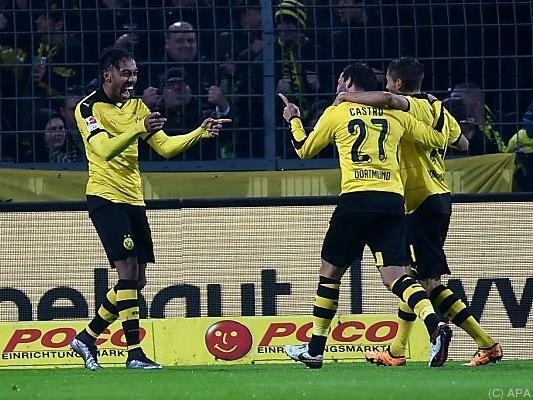 Jubel bei Dortmund nach Sieg gegen Ingolstadt